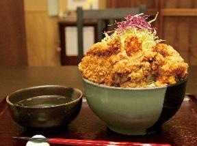 一夜漬地養鶏 カラ揚丼